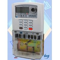 Buy cheap Entry Level Single Phase Electricity Meter 1600 Pulse Rate STS Prepayment Meter from wholesalers