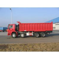 Quality HOWO 8*4-336HP-23cbm-Dump tipper truck-one bed for sale