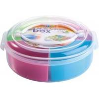 Quality Portable Gift Plastic Tableware Set Candy Box Tin With Custom Color Logo for sale