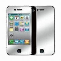 Quality High PET Dust-proof Mirror Effect Screen Protector for BlackBerry 9800 for sale