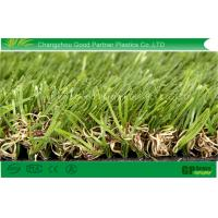 Quality High Color Fastness Synthetic Garden Artificial Turf with Nature Looking for sale