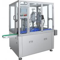 Buy cheap Fully automatic PLC Control bov bag on valve aerosol filling and sealing machine from wholesalers