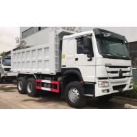 Buy 371hp SINOTRUK Howo A7 Dump Truck / 6x4 Mining Tipper Trucks With Left Hand at wholesale prices