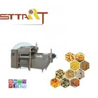 Quality Dual Screw Snack Food Extruder Machine Full Automation Type With Touch Screen for sale