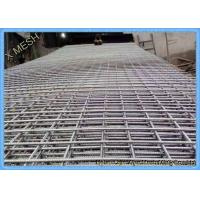 China 10mm Steel Bar Welded Wire Mesh Reinforcing Concrete Panel 6.2 X 2.4 M Size on sale