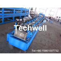 Quality High Speed Size Ajustable C Z Section Roll Forming Machine For CZ Purlins for sale