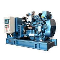 Quality 1500 RPM Diesel Generator Closed Cooling Open Type Diesel Generator With Fuel Tank Base for sale