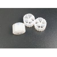 Buy cheap Five Holes HDPE Material MBBR K1 Filter Media For Aquariums Sewage Treatment from wholesalers