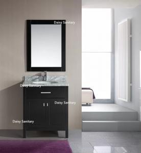 Quality European Style Modern Vanity Set , Safe And Integrate Modern Single Sink Vanity for sale