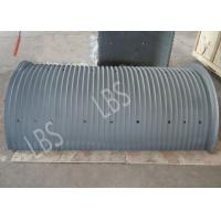 Quality Split Type Lebus Grooved Sleeves with Different Material / Carbon Steel and Stainless Steel for sale