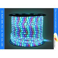Quality 220V 110V Flexible LED Strip Light 3528 SMD , Color Changing Led Rope Light for sale