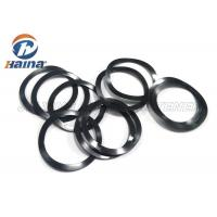 Buy cheap Customized 65Mn Steel Black Pre load Waved Washer for Machine Engineering from wholesalers