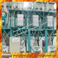 Quality 100T/24H wheat grinding machine price, wheat milling machine, flour process for sale