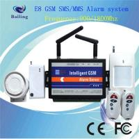 Buy cheap Original Wireless GSM MMS intelligent alarm system with wavecom module from wholesalers