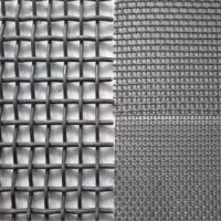 Quality Anti Corrosion Crimped Wire Mesh For Mining / Stone Crusher Vibrating Screen for sale