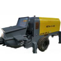 Quality Buildings Truck Mounted Concrete Pump , Ultra High Pressure Concrete Pump for sale