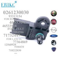 China ERIKC 0261230030 MAP Pressure Sensor Intake AIR Manifold 46553045 71732447 12568929 For OPEL FIAT LANCIA FACET SCANIA on sale