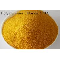 Quality Yellow Powder Water Clarifying Agent Polyalumium Chloride For Water Treatment for sale