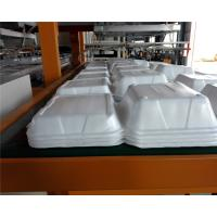 Quality Disposable Absorbent Styrofoam Tray Making Machine With Robort Arm for sale