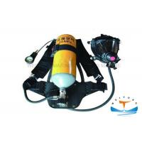 Quality Firefighter Portable Breathing Apparatus 30 MPa Working Pressure With Steel Cylinder for sale