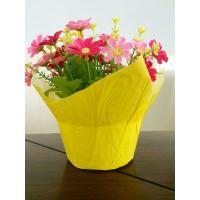 Buy cheap Indoor Fresh flowers Wrapping Pots Plant Pot Covers with Customized Color and Size from Wholesalers