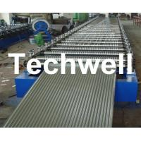 Quality Corrugated Profile Roofing Sheet Roll Forming Machine With Hydraulic, PLC System for sale