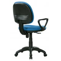 Quality Economic High Back Fabric Office Chairs With Arms And Wheels PP FOOT for sale