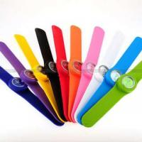Quality 2012 colorful lovely cartoon face digital slap watches ET1155M for sale