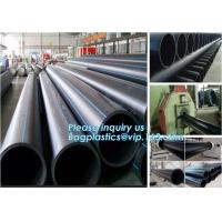 China Black plastic water irrigation system hdpe pipe roll with best price,HDPE pipe PE underground water supply pipe,PE compo on sale