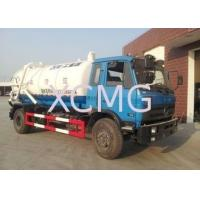 Quality Vaccum 6.5L Special Purpose Vehicles , Sewage Suction Pump Truck DFL1120B1 for sale