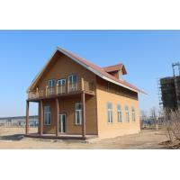 Quality WPC Ecology Prefab Villa With Light Gauge Frame , Wood Plastic Composite Material for sale