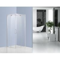 Buffering Sliding Glass Shower Enclosures With 6mm Clear Tempered Glass