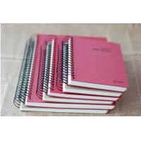 Quality Printed student custom exercise spiral notebook,A5/A4 spiral notebook for sale