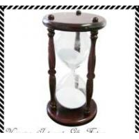 30 minutes Wood  Frame, Glass Hour ,Sand Timer