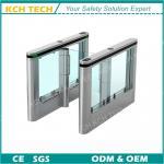 Quality Aluminum Swing Gate Paddle Gate ESD Turnstile Speed Turnstile for sale