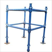 Buy cheap HDG / Paint Finish, Caster Wheel Cantilever Mobile Scaffolding Cuplock from wholesalers