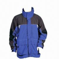 Quality Men's Winter Jackets, Made of Nylon for sale