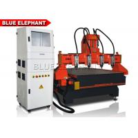 Quality 4 Axis Cnc Router Metal Engraving Machine Taiwan Ball Screw Stepper System for sale