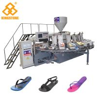 China Women Men Flip Flop Slipper Making Machine With Full Production Line Process on sale