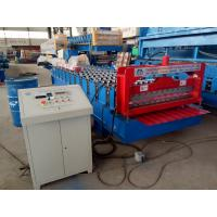 Quality Corrugated Profile Roofing Sheet Bending Machine / Roll Forming Machine for sale