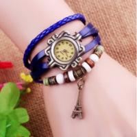 Quality Ladies Leather Bracelet Wrist Watches for sale