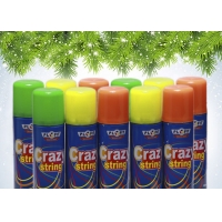 Quality Colorful Non Flammable EN71 Party String Spray for sale