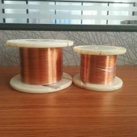 Buy cheap Transformer Flat Enamelled Copper Wire 0.35 * 1.5mm Class 155 180 220 from wholesalers