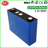Quality Fast shipping LiFePO4 battery cell 3.2V 85AH rechargeable lithium ion battery for EV/RV/Boat for sale