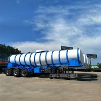 Quality 19m3 Tri-axle 98% chemical transport tanker trailer acid tanker trailer sulfuric acid tanker trailer for sale