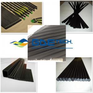 Quality Pultrusion Carbon Fiber Tubes, Pultrusion carbon fiber rod, Pultrusion carbon fiber strip for sale