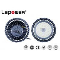 Quality Commercial 200W UFO High Bay Light Dimming 1-10V Osram LED Chip 4000K CRI 70 IP66 ETL DLC approved、 for sale