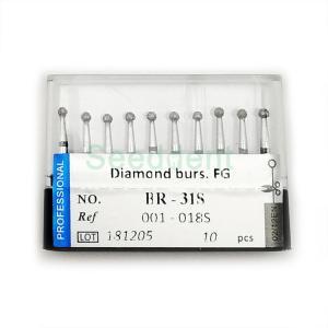 Quality FG diamond burs 10pcs/box BR-31S VP-21 for sale