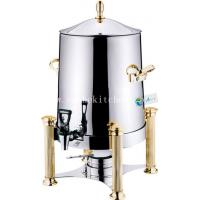 Stainless Steel coffee urn,cereal dispenser with Burner