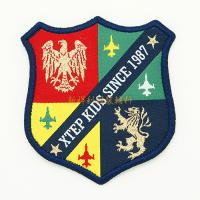 Professional Custom Embroidered Logo Patches For Garment / Toys / Uniforms